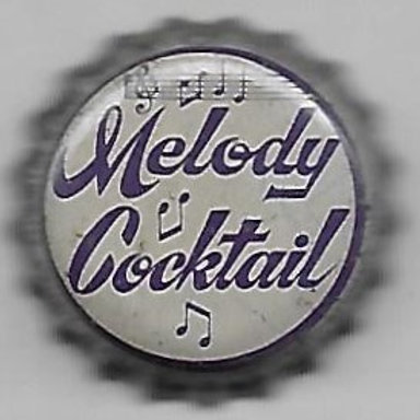 MELODY COCKTAIL PURPLE ON WHITE
