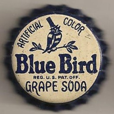 BLUE BIRD GRAPE SODA