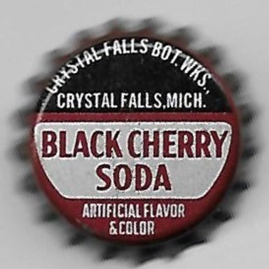 CRYSTAL FALLS BLACK CHERRY SODA