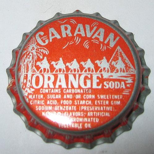 CARAVAN ORANGE SODA MAGNET