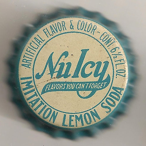 NU ICY IMITATION LEMON SODA