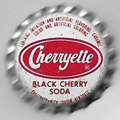 CHERRYETTE BLACK CHERRY SODA