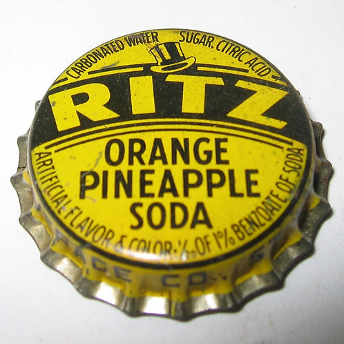 RITZ ORANGE PINEAPPLE SODA  MAGNET