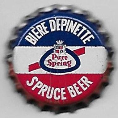 PURE SPRING BIERE DEPINETTE SPRUCE BEER