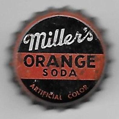 MILLER'S ORANGE SODA