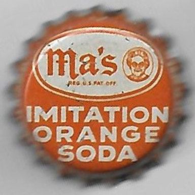 MA'S IMITATION ORANGE SODA