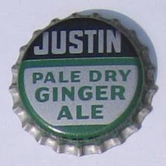 JUSTIN PALE DRY GINGER ALE