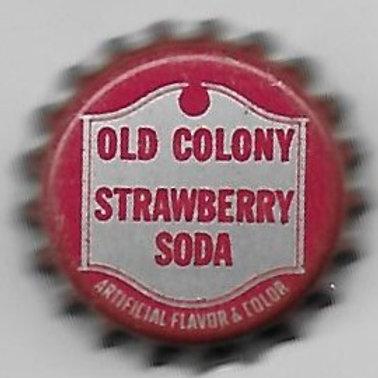 OLD COLONY STRAWBERRY SODA