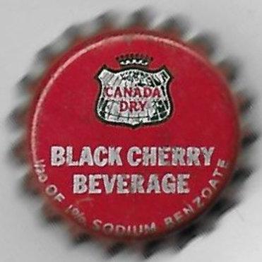 CANADA DRY BLACK CHERRY BEVERAGE