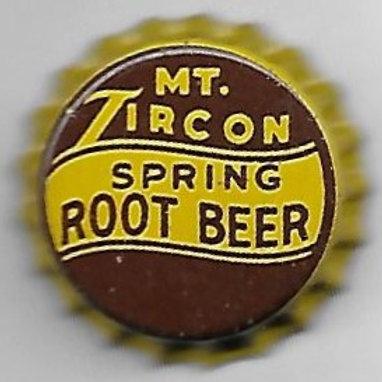 MT. ZIRCON SPRING ROOT BEER