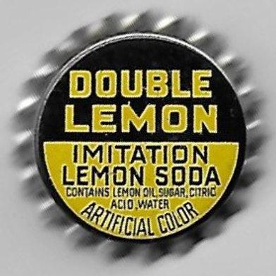 DOUBLE LEMON IMITATION LEMON SODA