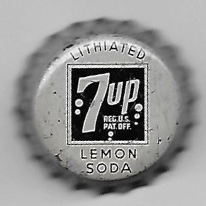 7 UP LITHIATED LEMON SODA BROOKLYN, NY; 1930's