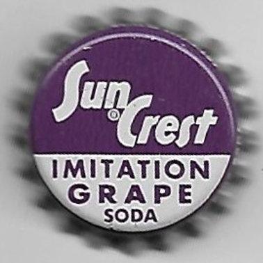 SUN CREST IMITATION GRAPE SODA