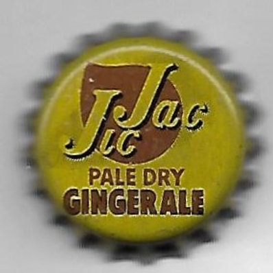 JIC JAC PALE DRY GINGER ALE