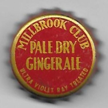 MILLBROOK CLUB PALE DRY GINGER ALE
