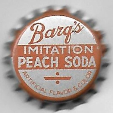 BARQ'S IMITATION PEACH SODA