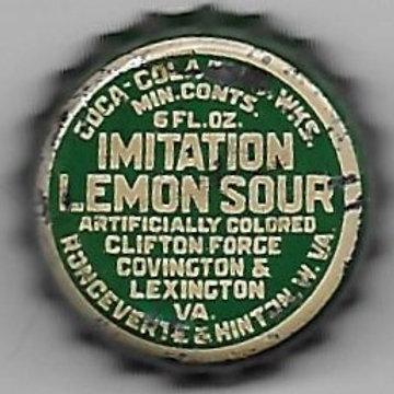 COCA-COLA IMITATION LEMON SOUR