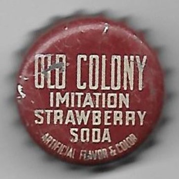 OLD COLONY IMITATION STRAWBERRY SODA