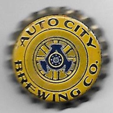AUTO CITY BREWING CO. YELLOW; Hamtramck, MI; 1934-40