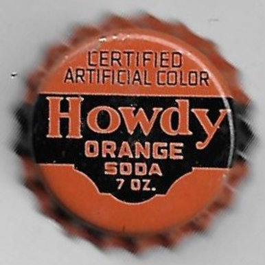 HOWDY ORANGE SODA