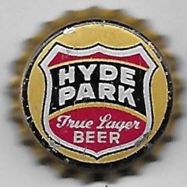 HYDE PARK TRUE LAGER BEER