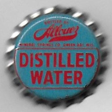 ALLOUEZ DISTILLED WATER