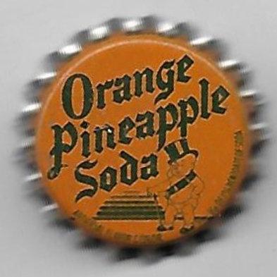 DUKE BEVERAGES ORANGE PINEAPPLE SODA