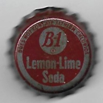 B-1 LEMON-LIME SODA