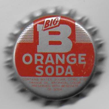 BIG B ORANGE SODA
