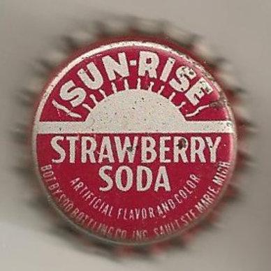 SUN-RISE STRAWBERRY SODA