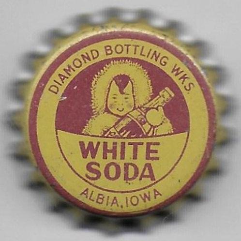 CLICQUOT CLUB WHITE SODA, DIAMOND BOTTLING WRKS.