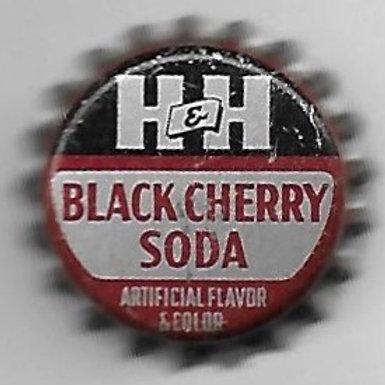 H&H BLACK CHERRY SODA; H&H BOT'G., APPALACHIA, VA