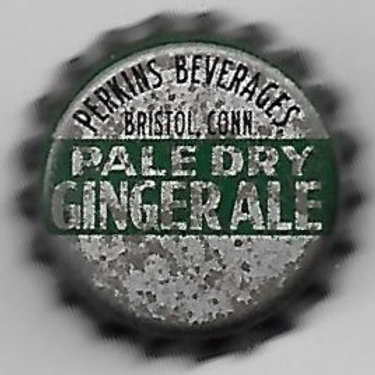 PERKINS BEVERAGES GINGER ALE PALE DRY