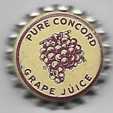 GRAPE JUICE, PURE CONCORD