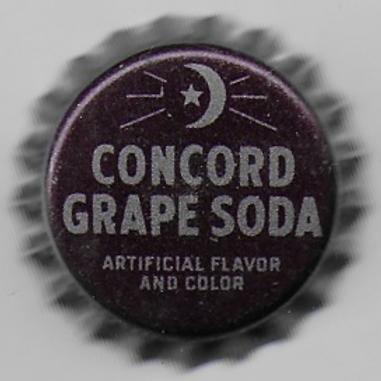 CRESCENT BOTTLING CONCORD GRAPE SODA