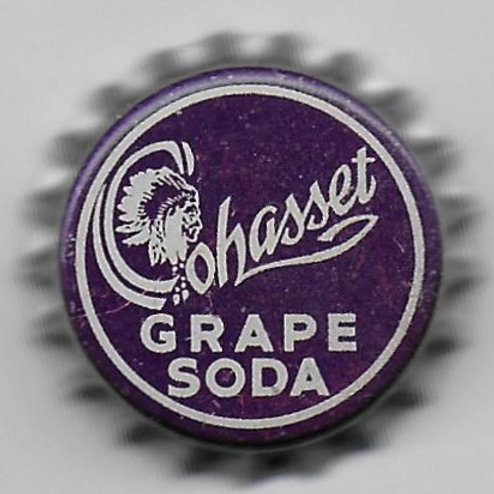 COHASSET GRAPE SODA