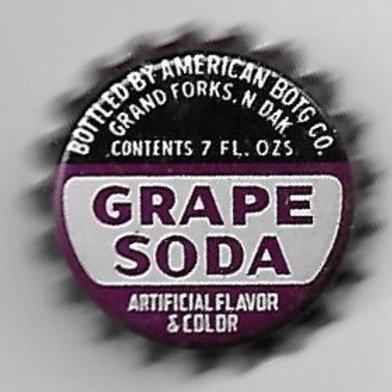 AMERICAN BOTTLING GRAPE SODA