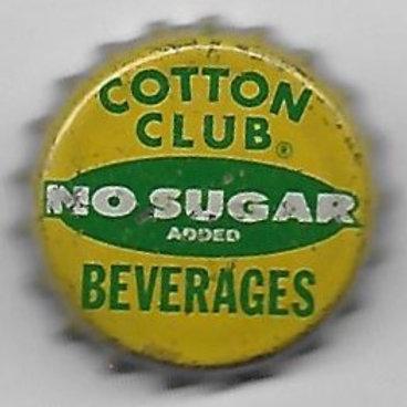 COTTON CLUB BEVERAGES NO SUGAR ADDED
