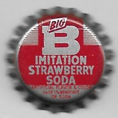 BIG B IMITATION STRAWBERRY SODA