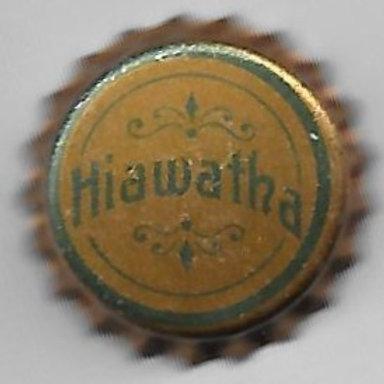HIAWATHA MINERAL WATER; SOLID CORK