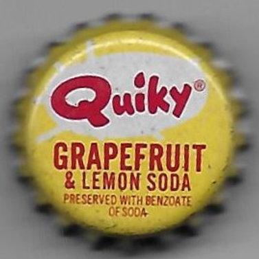 QUIKY GRAPEFRUIT & LEMON SODA PIN