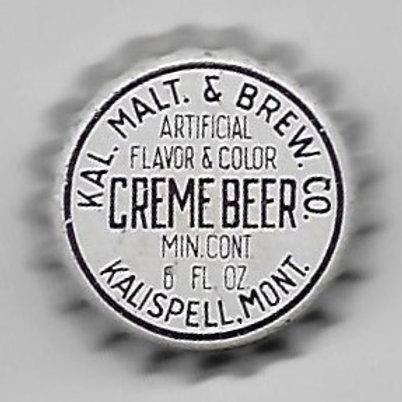 KAL. MALT AND BREWING CREME BEER