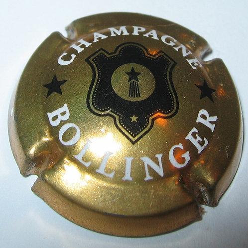 CHAMPAGNE BOLLINGER BLACK ON GOLD