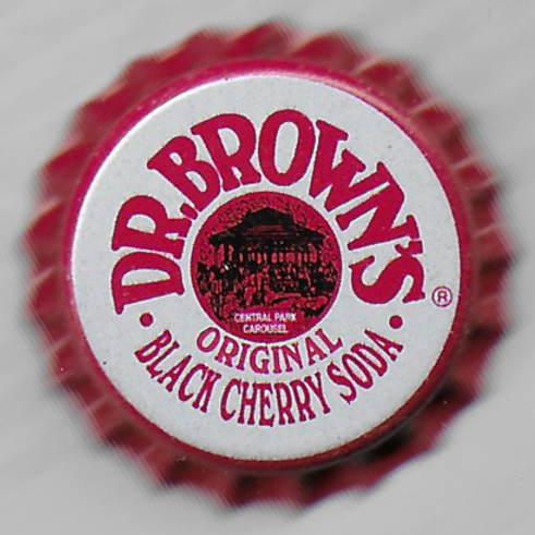 DR. BROWN'S BLACK CHERRY SODA