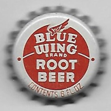 BLUE WING ROOT BEER LIGHT BROWN; MINNEAPOLIS, MINNESOTA