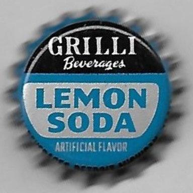GRILLI BEVERAGES LEMON SODA