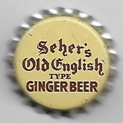 SEHER'S GINGER BEER OLD ENGLISH TYPE