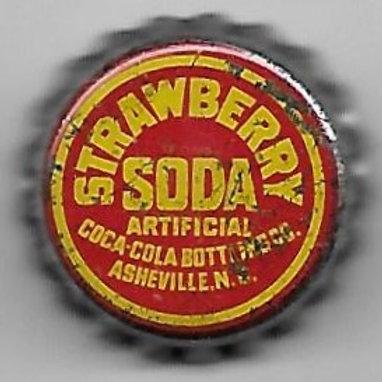 COCA-COLA STRAWBERRY SODA