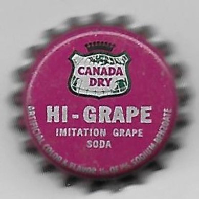 CANADA DRY HI-GRAPE