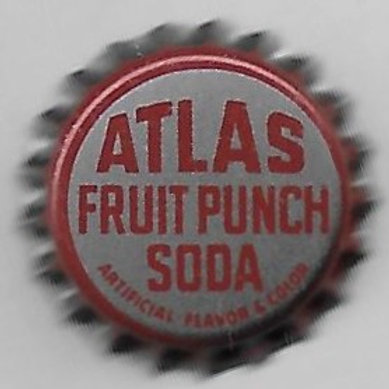 ATLAS FRUIT PUNCH SODA
